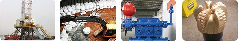 bentonite, drillnig rigs, mud pumps,