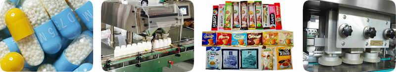 Capsule Filling,Automatic Capsule Counter,Sachet Machine,Capping & Labeling